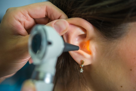 Audiologist exam