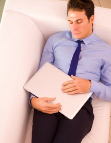 FDP businessman sleeping