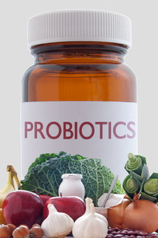 Image of probiotic foods and supplements